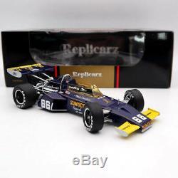118 Replicarz 1972 Winner Indianapolis 500 Mark Donohue #66 R184827 Diecast
