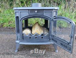 12 -14kw FOGO Dual Aspect Double Sided wood burner multifuel woodburning stove