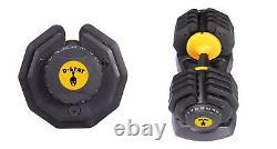 2 X 25 Kg D-Stat Adjustable Dumbbells (Pair) for Home Gym (Pre-Order)