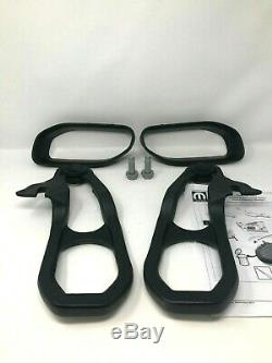 2019 2020 Ram 1500 DT Front Black Tow Hooks Left & Right with Hardware New Mopar