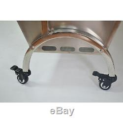 46 Large Stainless Steel BBQ, Pig, Lamb, Goat, Chicken Spit Roaster, Rotisserie TOP