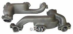 68 69 70 71 72 Pontiac GTO D-port Ram Air 3 Cast Exhaust Manifold Headers Pipes