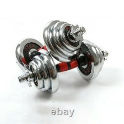 Adjustable CAST IRON Professional Dumbbell & Barbell 30kg