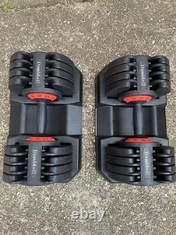 Adjustable Dumbbells 2 x 32 KG PAIR SET (64 kg total)