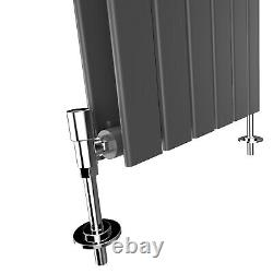 Anthracite Vertical Horizontal Designer Radiator Flat Panel Central Heating UK