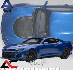 Autoart 71209 118 Chevrolet Camaro Zl1 2017 (hyper Blue Metallic)
