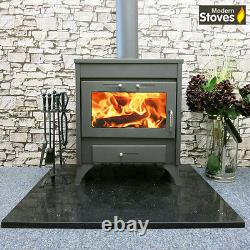 Back Boiler Stove Wood Burning Multi fuel, Dena 20kw Wood Burner Modern Stoves
