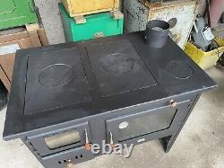 Brand New 14kw PRITY 2P41/H15 stove Wood Burner Multi Fuel Cooking Range