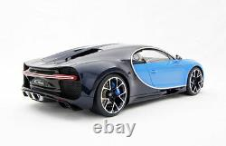 Bugatti Chiron hand-built 18 scale model car hand craft by Amalgam