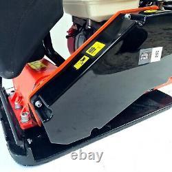 C85 Cast Iron Vibrating Plate Compactor Water Tank Honda Gx160 Tarmac Wacker