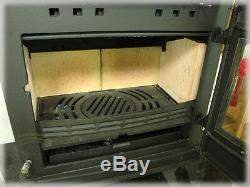 CASTMASTER BELVOIR WOOD BURNING LOG BURNER MULTIFUEL CAST IRON STOVE 11-12kw