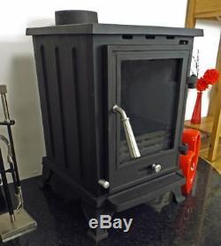 CASTMASTER CAST IRON PENRITH LOG WOOD BURNING BURNER MULTIFUEL STOVE 5Kw