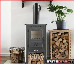 Cast-Iron Blist Wood Burner Men cave shed Log burner Stove Woodburner Multifuel