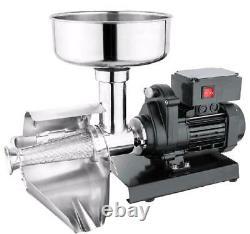 Commercial Grade Electric Tomato Berry Strainer Milling Strain Press Machine