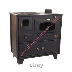 Cooking Wood Burning Stove Fireplace Cast Iron Top Prometey 7 kw