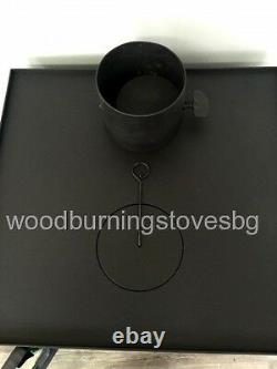 Cooking Wood Burning Stove Fireplace Oven Multifuel Cooker Prity FM 12kw