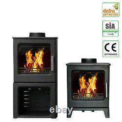 Defra Approved 4.3KW Wood Burning Stove Eco Design Ready Cast Iron Fireplace