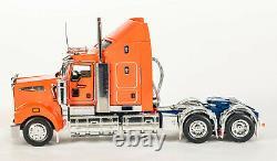 Drake Z01560 KENWORTH T909 PRIME MOVER TRUCK Aero Kit Drake Orange Blue 150