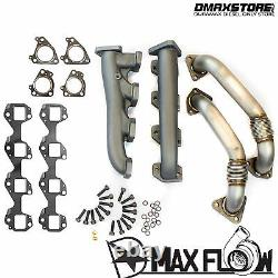 High Flow Race Series Manifolds & Up Pipes for GM Chevy GMC 6.6L Duramax Diesel