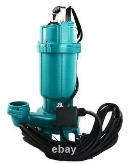 IBO Heavy Duty 1.1kW Submersible Sewage Dirty Waste Water Pump w. Shredder pond