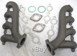 LS Cast Iron Exhaust Manifold Headers Chevrolet Corvette Camaro LS1 LS2 LS3 8501