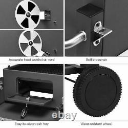 Large Portable Charcoal BBQ Grill Multi Feature BBQ Grill For Garden Outdoor UK