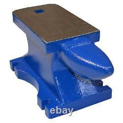 Large, V Heavy 75lb (34kg) Blacksmith Single Horn Cast Iron Anvil Powder Coated