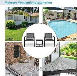 Luxury Garden Furniture Set 3 Piece Sofa Outdoor Indoor Patio Lounge Balcony UK
