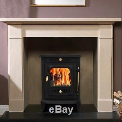 Luxury Waddington 7.5KW Woodburner Multifuel Stove Wood Burner Log Burning Fire