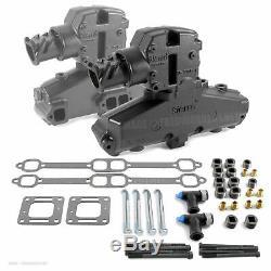 MerCruiser Marine Sierra Exhaust Manifold Kit 4 350 V8 87114 44354 1983-2003
