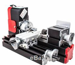 Miniature Multifunction Metal Motorized Mini Lathe Machine DIY Tool 20000rev/min