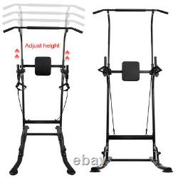 Multi Gym Workout Station Home Fitness Body Excercise Power Training Equipment