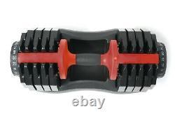 MuscleSquad 25kg Adjustable Dumbbells