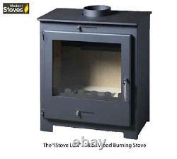Nero Lux 18kw Wood Burning Multifuel, Wood Burner Modern Stoves