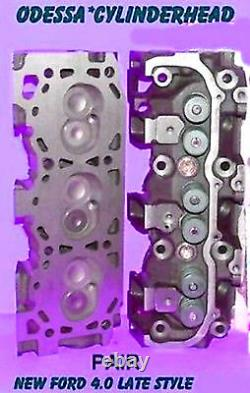New 2 Fit Ford Mazda Ranger Bronco 4.0 Ohv Late Cylinder Heads Complete No Core