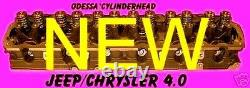 New Jeep Cherokee Laredo 4.0 0331 Cylinder Head Complete No Core