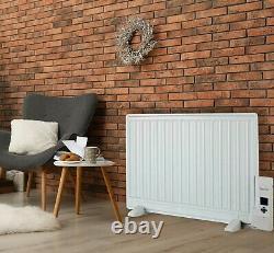 Oil Filled Panel Radiator 600-1000W Wall Mounted & Freestanding Digital Timer