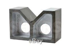 Out Of Stock 90 Days 2 Cast Iron Pair V-blocks V-block Vblocks Ground New