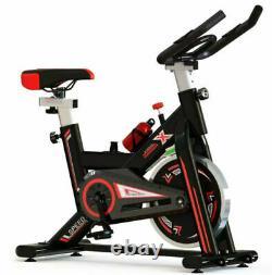PRO Indoor Cycling Exercise Bike Aerobic Studio Cycle Home Cardio Adjustable