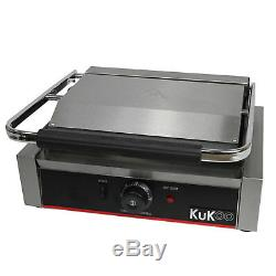 Panini Press Sandwich Toaster Waffle Maker Commercial Iron Toastie Grill