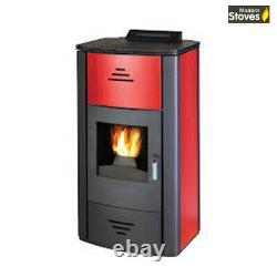 Pellet Boiler Burner Biomass Stove Hydro 21kw Back Boiler for Vented / Un-Vented