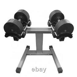 Premium Adjustable Dumbbells 2kg-32kg Per Dumbbell (64kg Total) With Stand
