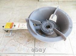 Premium Propane Cast Iron Wok Stove Burner with Igniter, High Pressure, 100k BTU