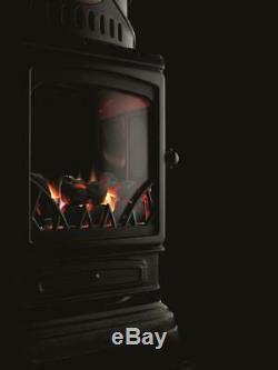 Provence Gas Heater Portable Calor Gas Heater (Matt Black)