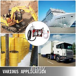 Self Priming Electric Oil Pump Transfer Bio Fuel Oil Diesel 60L/Min