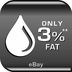 Tefal ActiFry Original Low Fat Healthy Family Fryer FZ710840 1kg Black NEW