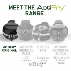 Tefal Actifry Air Fryer Traditional, (4 Portions), Black, 1 Kg Capacity