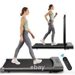 UK Plug Electric Treadmill Indoor Fitness Running Machine Workout Heavy Exercise