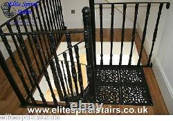 Victorian design Cast Iron Spiral Stair 1370mm dia. Staircases and Balconies