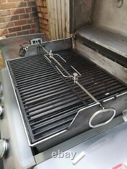 Weber Genesis Grill Center Kitchen gas BBQ cost £2600 when new with extras